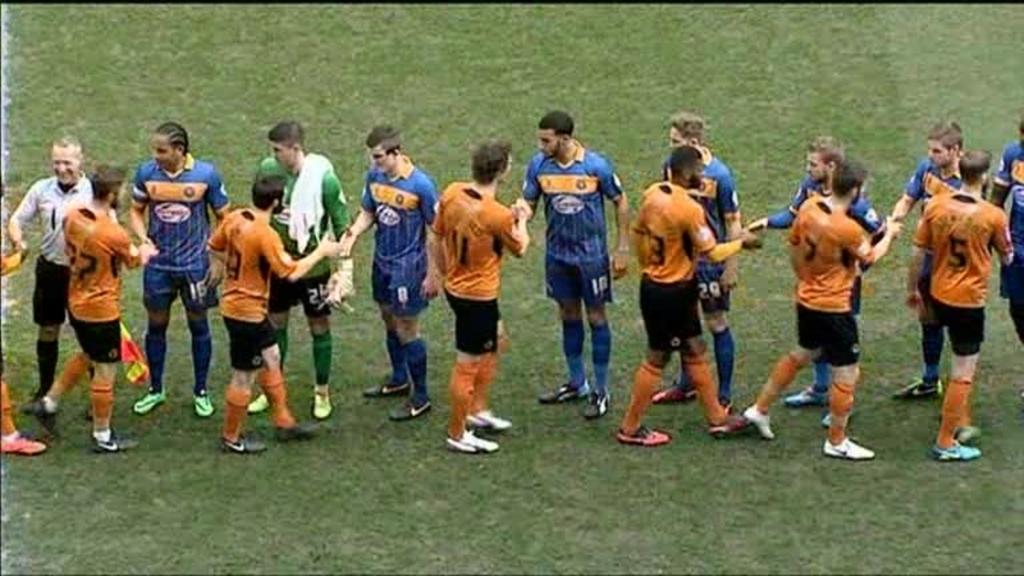 Click here to watch the Wolves 0 Shrewsbury 0 video