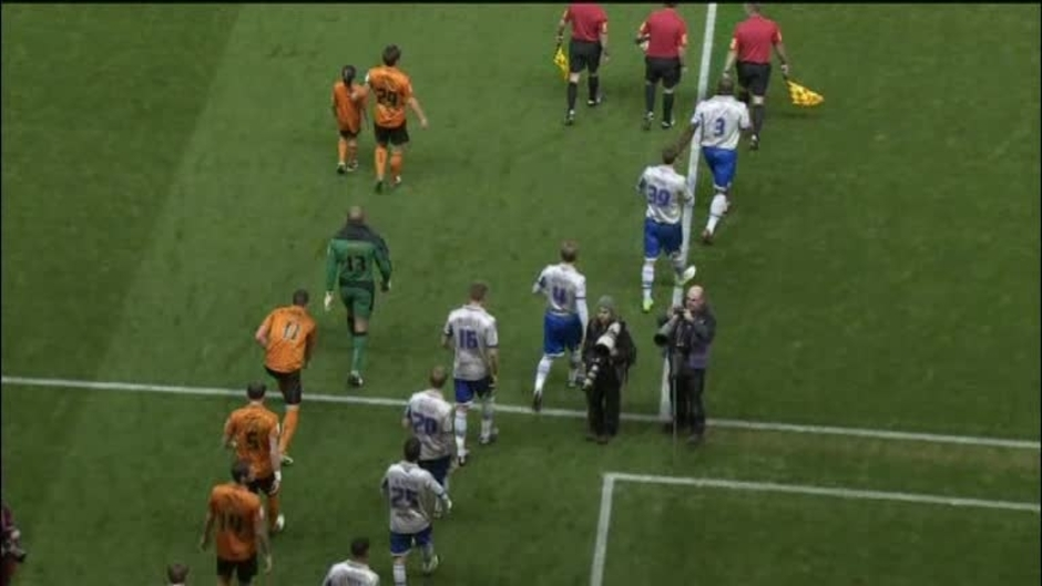 Click here to watch the Wolves 0 Millwall 1 video