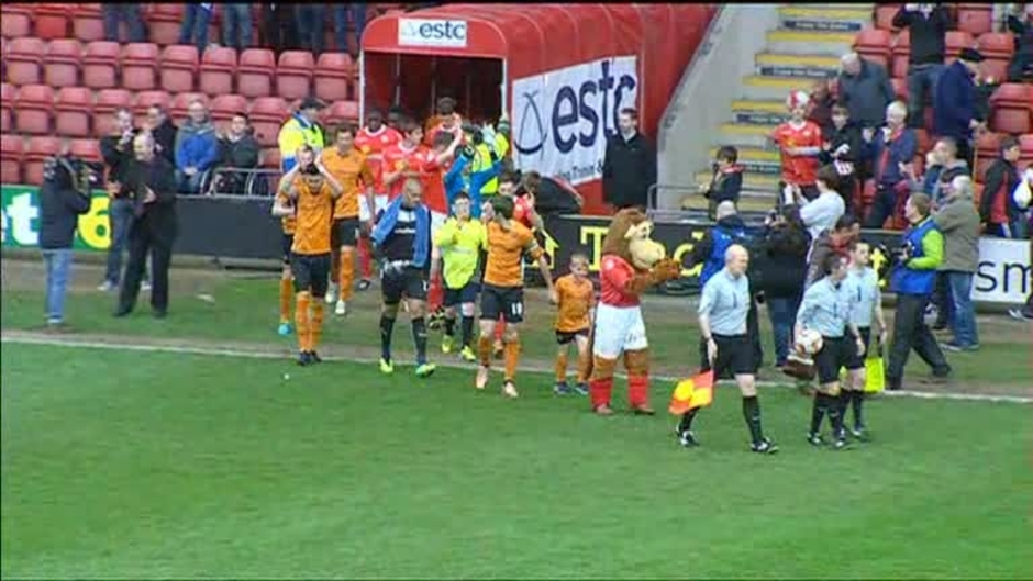 Click here to watch the Crewe 0 Wolves 2 video