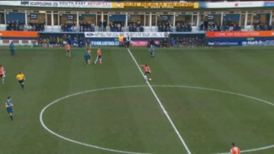 Click here to watch the Luton 1 Wolves 0 video