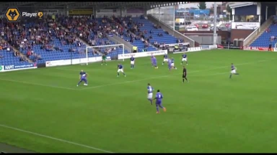 Click here to watch the Highlights: Chesterfield 1-2 Wolves video