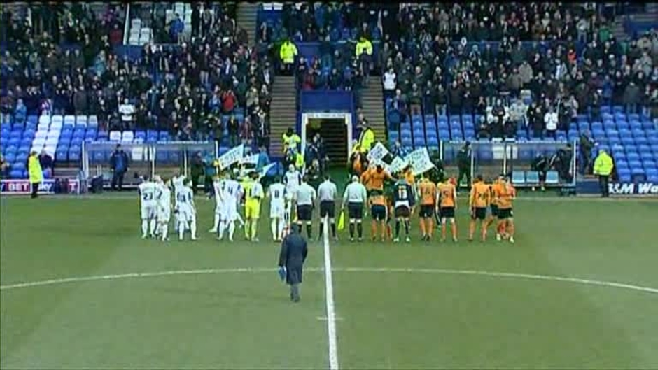 Click here to watch the Tranmere 1 Wolves 1 video