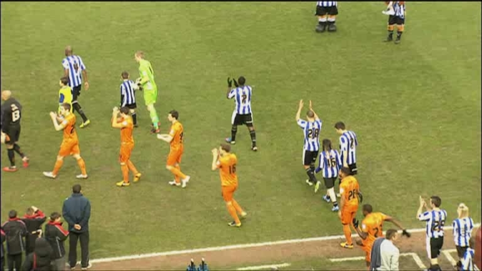 Click here to watch the Sheff Wed 0 Wolves 0 video