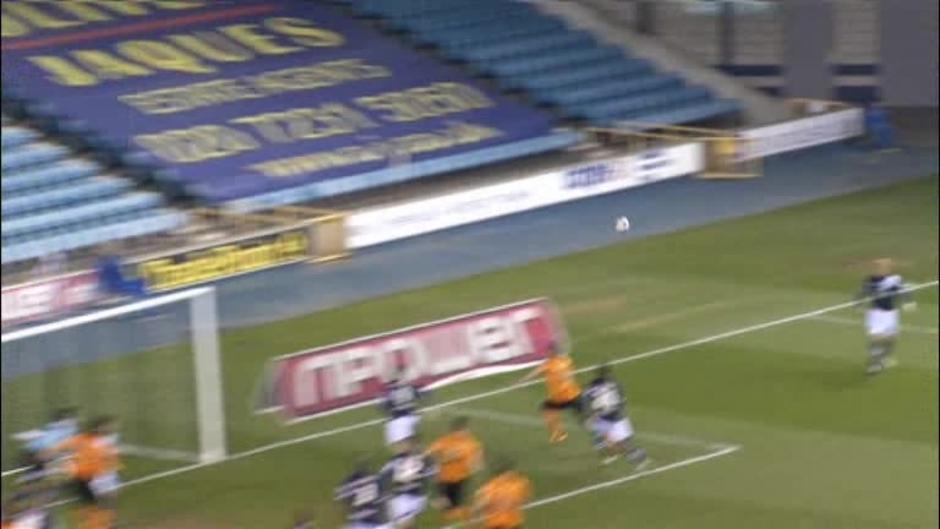Click here to watch the Millwall 0 Wolves 2 video