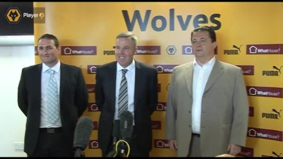 Click here to watch the Kenny Jackett Appointed Wolves Head Coach - Video video