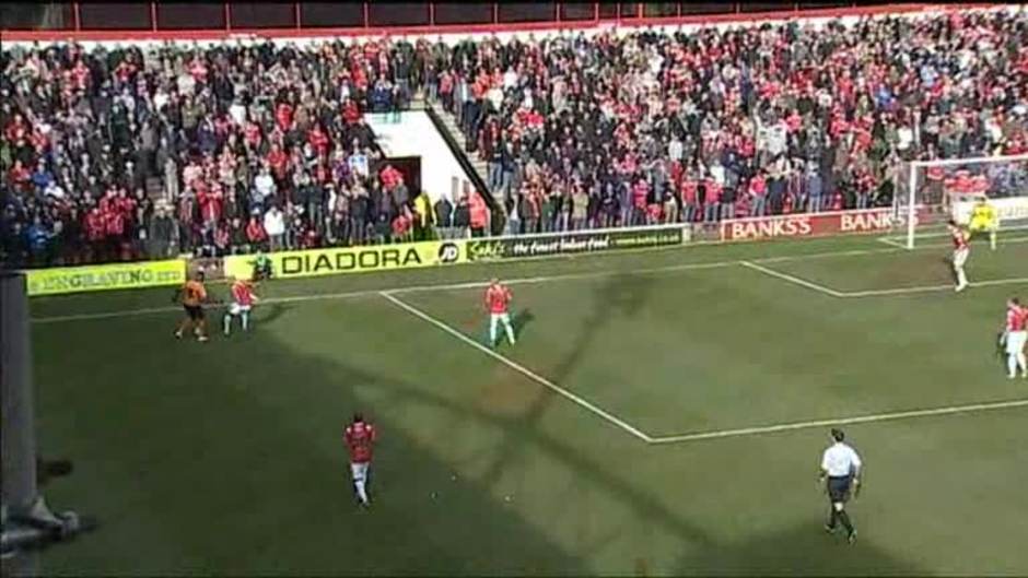 Click here to watch the Walsall 0 Wolves 3 video