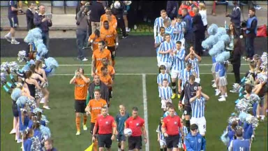 Click here to watch the Huddersfield 2 Wolves 1 video