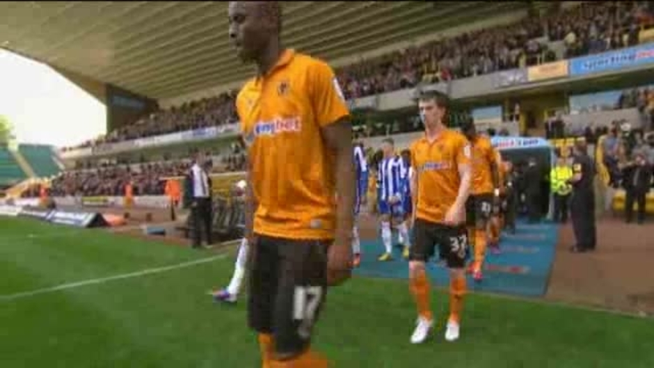 Click here to watch the Wolves 1 Sheff Wed 0 video