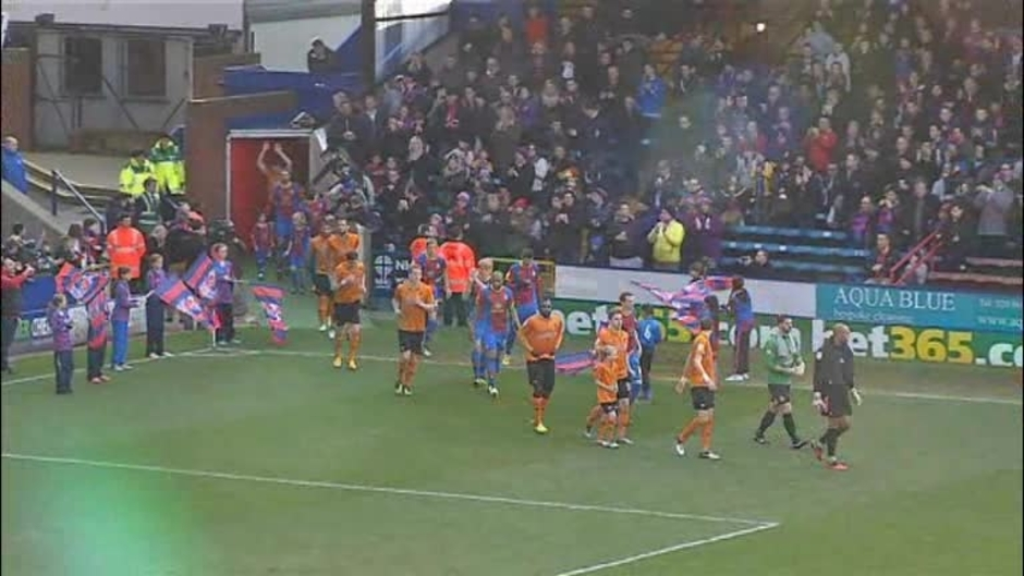 Click here to watch the Crystal Palace 3 Wolves 1 video