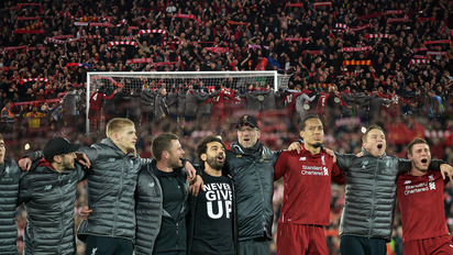 Liverpool FC YNWA Umh/ängetasche LFC Offizielles Lizenzprodukt
