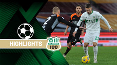 Roma-Sassuolo 0-0 Highlights