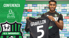 Andreaw Gravillon in vista di Sassuolo-Samp