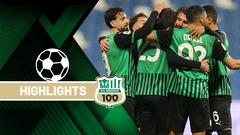 Sassuolo-Napoli 3-3 Highlights