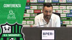 Mister De Zerbi prima di Sassuolo-Verona