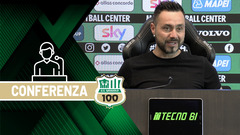 Mister De Zerbi prima di Milan-Sassuolo