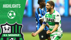 Inter-Sassuolo 3-3 Highlights