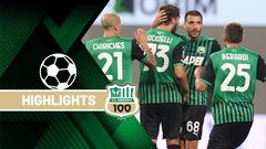 Sassuolo-Cagliari 1-1 Highlights