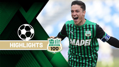 Sassuolo-Roma 2-2 Highlights
