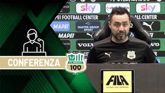 Mister De Zerbi prima di Sampdoria-Sassuolo