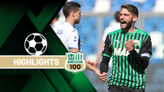 Sassuolo-Atalanta 1-1 Highlights