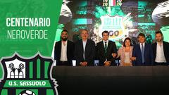 La presentazione delle attivita per la celebrazione del Centenario del Sassuolo Calcio