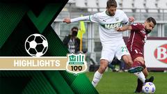 Torino-Sassuolo 3-2 Highlights