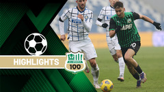 Sassuolo-Inter 0-3 Highlights