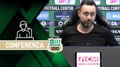 Mister De Zerbi prima di Sassuolo-Benevento
