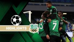 Napoli-Sassuolo 0-2 Highlights