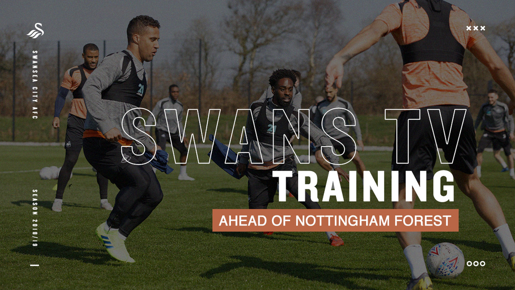 Video thumbnail for Training ahead of Nottingham Forest bdd64db02a341