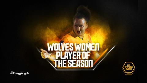 Wolves Women Player of the Season | Jamila Palmer