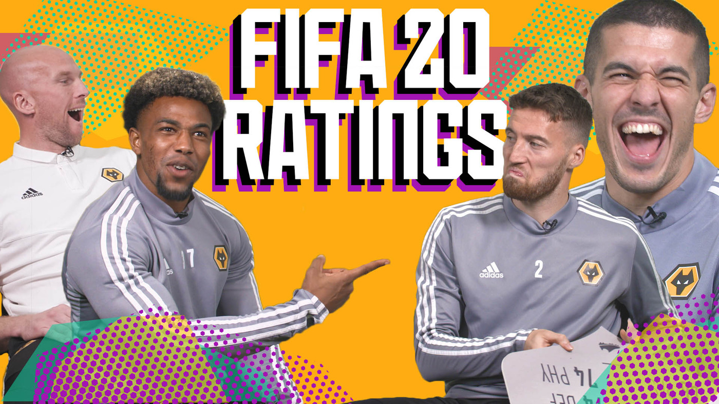 Wolves players react to their FIFA 20 ratings!