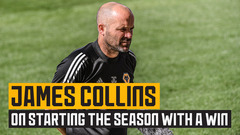 James Collins on starting the season with a win
