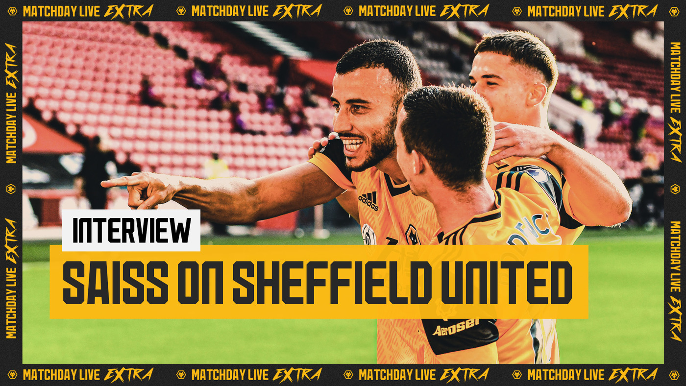 Goalscorer Romain Saiss on Sheffield United victory | Matchday Live Extra Interview
