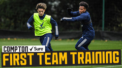 Back from international duty! | Squad reunite and train ahead of Southampton