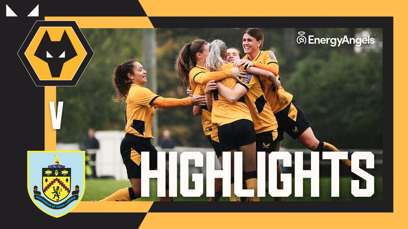 Riley rescues a point   Wolves Women 2-2 Burnley   Highlights