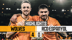 Wolves 4-0 RCD Espanyol | Highlights