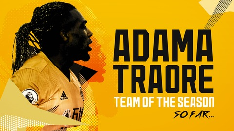 ADAMA TRAORE'S CRAZY SEASON! | GOALS, ASSISTS, SPEED, STRENGTH, DRIBBLES, SKILLS