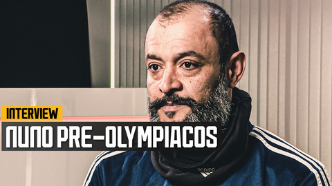 Nuno on travelling to Greece, playing behind closed doors and Daniel Podence