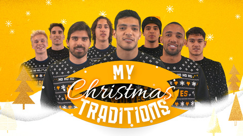 RAUL JIMENEZ, RUBEN NEVES, MARCAL AND MORE TALK THEIR CHRISTMAS TRADITIONS
