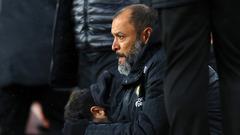 Nuno looks ahead to home fixture with Brighton