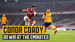 Conor Coady hopes for positive news on Raul Jimenez after win against Arsenal