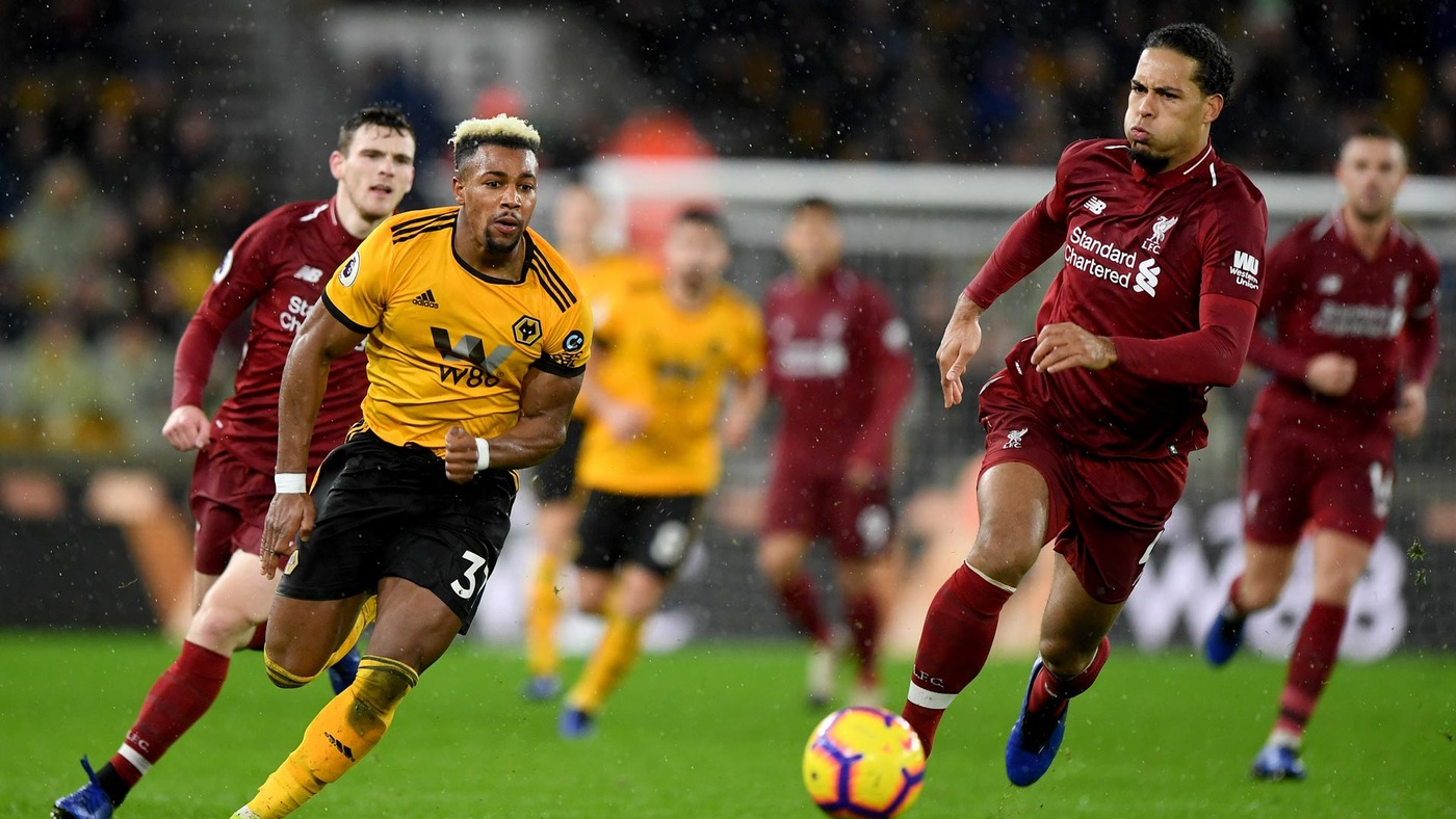 Wolves 0-2 Liverpool   Extended