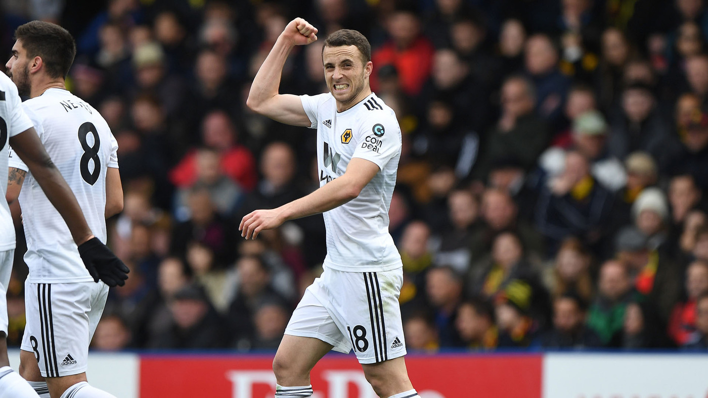 Goalscorer Jota on Watford victory
