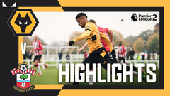Defeat at home | Wolves 0-1 Southampton | PL2 Highlights