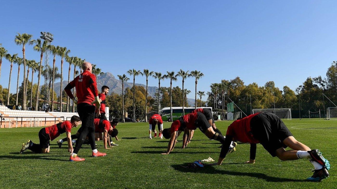 Coach cam - Marbella warm weather training camp