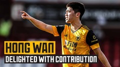Hong Wan on contributing to under-23's win