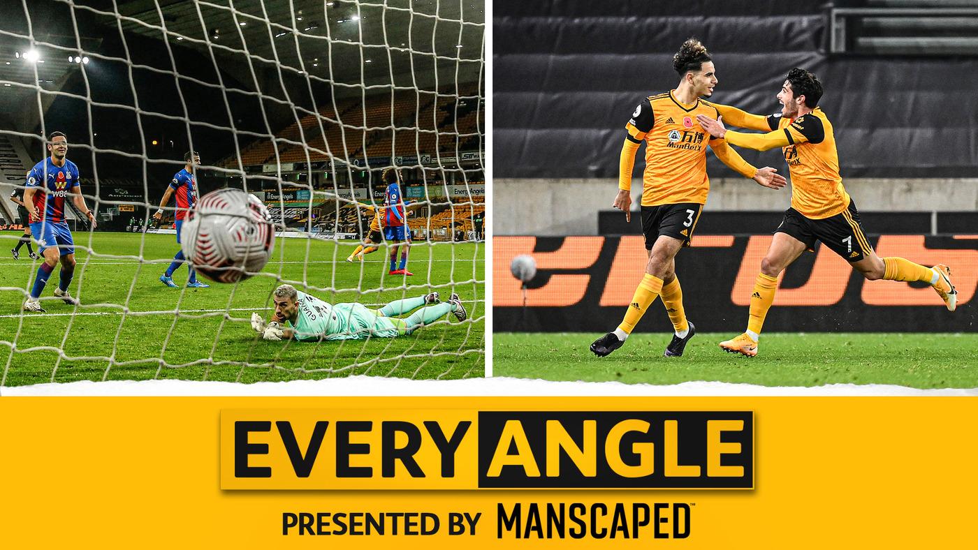 Every Angle of Aït-Nouri's debut goal v Crystal Palace!