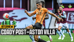 Coady reflects on victory at Villa Park