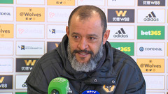 Nuno's pre-Shrewsbury press conference
